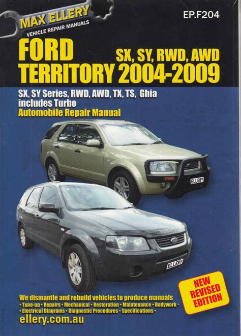 ford territory   workshop manual  revised