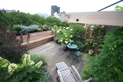 Roof Top Terrace : Terrace Gardens Of New York City