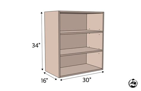 how to build cabinet carcass 30in upper cabinet carcass frameless rogue engineer