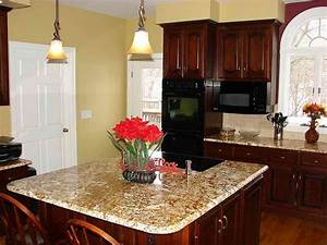 best kitchen paint colors with oak cabinets vissbiz With best paint color for kitchen with dark cabinets