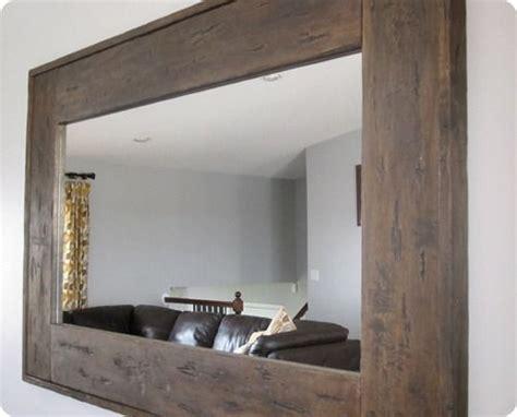 Bathroom Mirrors Walmart Canada by Best 25 Wood Mirror Ideas On Mirrors Pallet