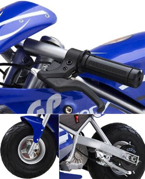 razor pocket rocket electric mini bike lets kids cruise style mark