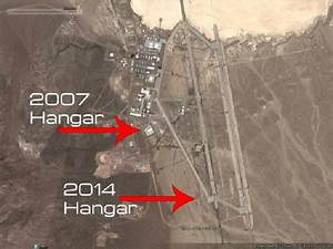 Satellite photos reveal new hangars being built at Area 51 ...