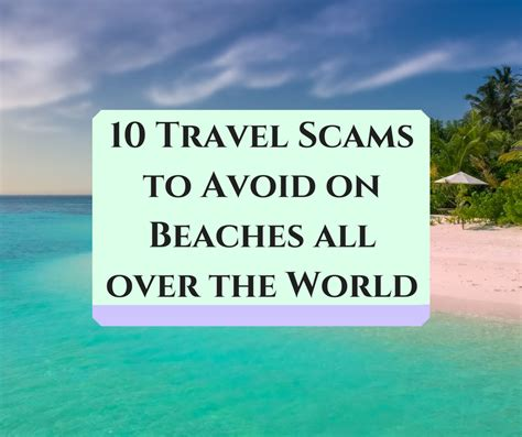 10 Travel Scams To Avoid On Beaches All Over The World