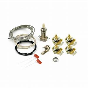 Les Paul Wiring Kit  Short Pots For Historic Gibson