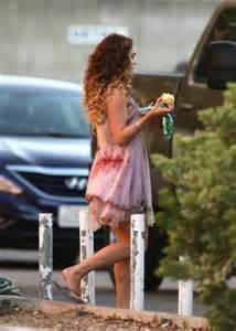 hudgens kitchen sink hudgens on the set of freaks of nature in la 6749