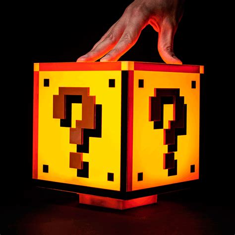 Mario Question Block L Uk by Mario Bros Inspired Question Block L Pursuitist In