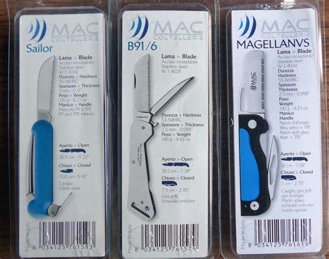 Folding Boat Knife by Boat Marine Folding Knives With Marlin Spikes Fids