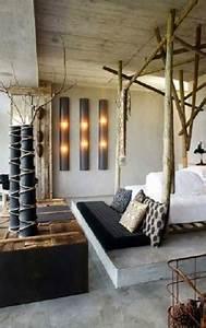 Deco Chambre Bois : 8 id es d co chambre esprit r cup d co cool ~ Melissatoandfro.com Idées de Décoration