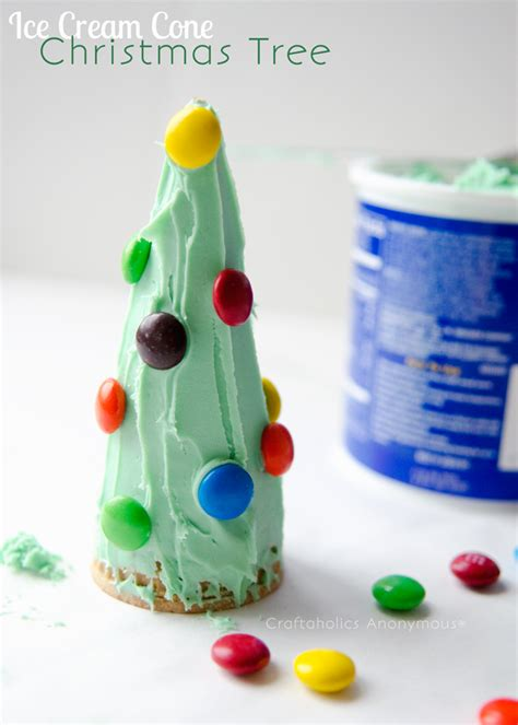 craftaholics anonymous 174 preschool crafts 236 | ice cream cone christmas tree