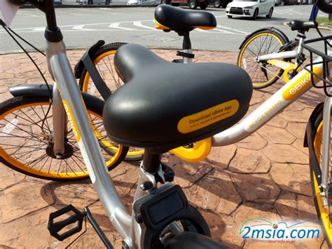Obike Bicycle Sharing Service In Malaysia 2msiacom