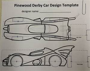 How to build an awesome batmobile pinewood derby car for Batmobile pinewood derby template