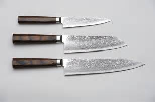 cutlery kitchen knives r4 damascus 3 set paring knife santoku knife and chef s knife unique japan