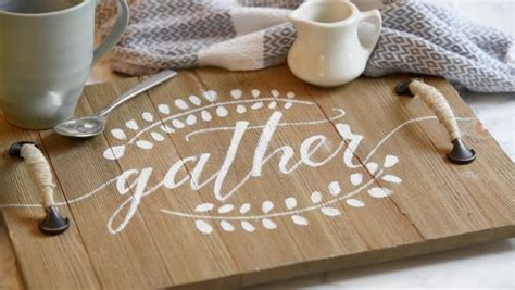 diy faux calligraphy stencil tutorial hgtv