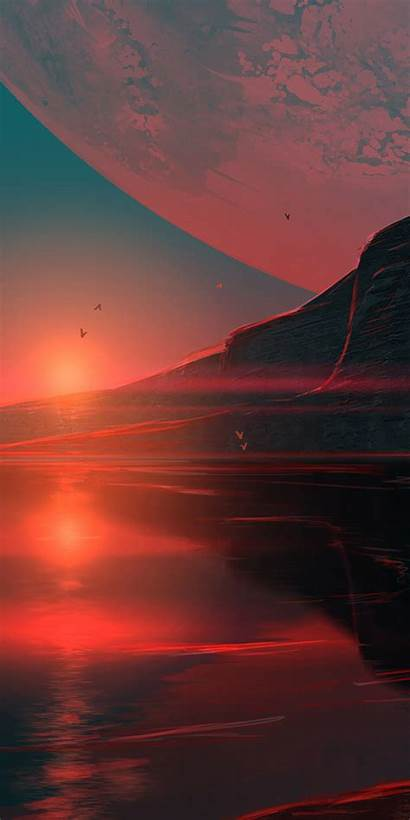 Planet Sunset Another Honor Resolution Farkli Gezegen