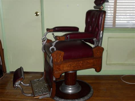 koken barber chairs value antique vintage oak koken congress barber chair
