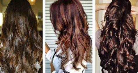Hair Color Brunettes by Trendiest Hair Colors To Try This 2017 Stylewe