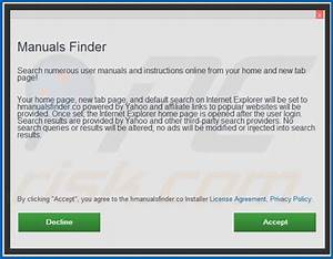 How To Get Rid Of Manuals Finder Browser Hijacker