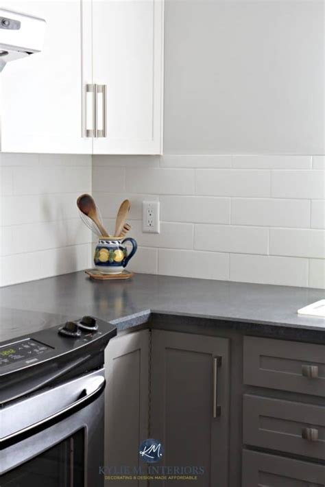 painted kitchen cabinets benjamin moore chelsea gray