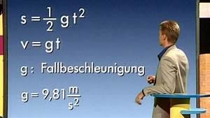 Freier Fall Geschwindigkeit Berechnen : physik mechanik alles f llt nach unten mechanik physik telekolleg ~ Themetempest.com Abrechnung