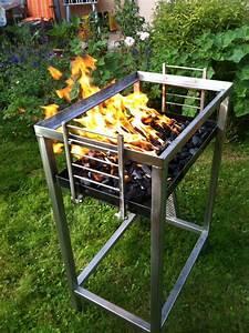 Grill Aus Edelstahl Selber Bauen : grill selber bauen metall raum und m beldesign inspiration ~ Whattoseeinmadrid.com Haus und Dekorationen