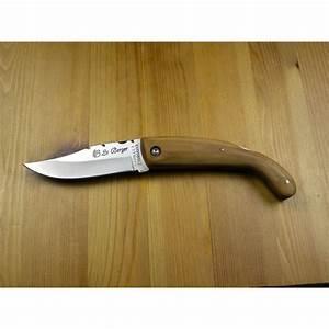 Couteau à Bois : couteau le berger u ricorsu guilloch en bois d 39 olivier ~ Edinachiropracticcenter.com Idées de Décoration