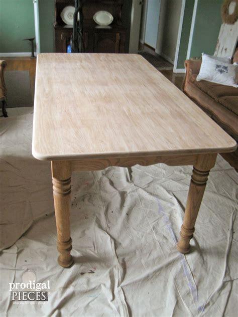 whitewash kitchen table whitewashed or limewashed wood prodigal pieces