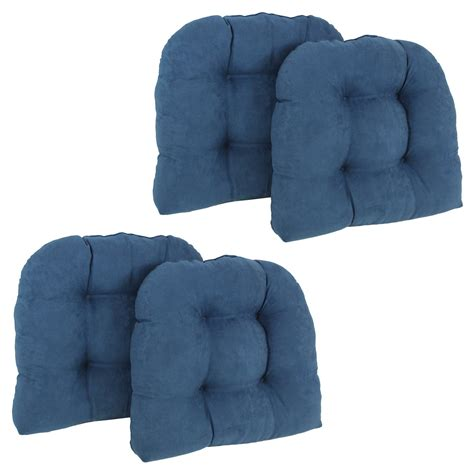 blazing needles microsuede u shaped indoor chair cushion