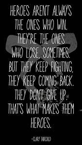 Clary Fairchild... Cassandra Clare Warrior Quotes