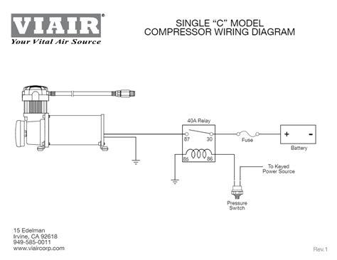 450c Wiring Diagram by Viair 450c Ig Industrial 24 Volt Air Compressor Hornblasters