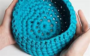 Corbeille Au Crochet : tuto facile panier au crochet en zpagetti youtube ~ Preciouscoupons.com Idées de Décoration