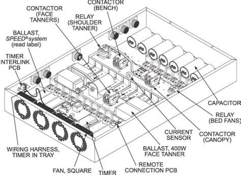 Wiring Diagram For Tanning Bed by Wolff Tanning Gt Starpower Gt P 548 4f