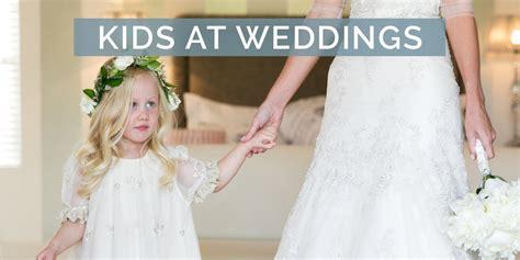 kids  weddings tips  including children