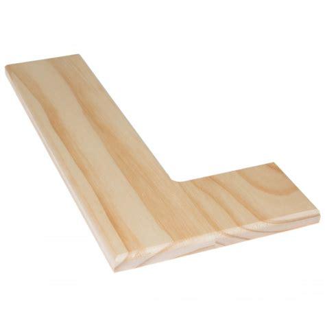 12 quot natural wood letter l 0993 l craftoutlet com