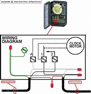 Time Clock With Photo Eye Wiring Diagram