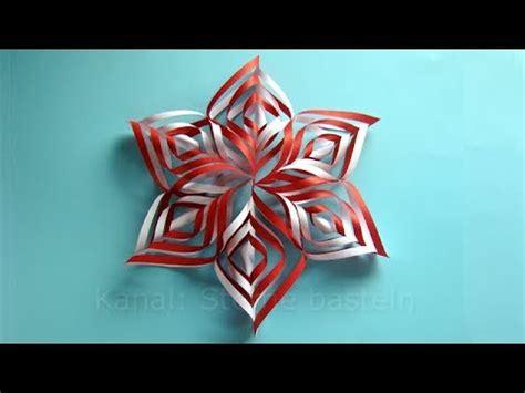 weihnachtsbasteln sterne basteln mit papier fuer