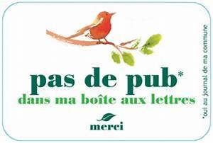 Pas De Pub Merci : un geste anti pub ~ Dailycaller-alerts.com Idées de Décoration