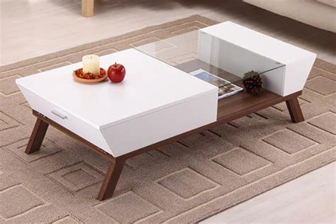 Moderne Couchtische Design by Wide Designs Of White Coffee Table With Storage Homesfeed