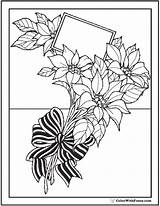 Coloring Flowers Bouquet Wild Flower Pages Bow Pdf Tulips Garlands Daffodils Form Colorwithfuzzy sketch template