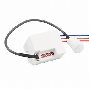 Ampoule Détecteur De Présence : d tecteur de pr sence pir 120 mini ledkia france ~ Edinachiropracticcenter.com Idées de Décoration
