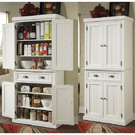 tall kitchen pantry storage cabinet utility closet