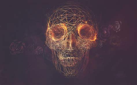 Digital Skull Wallpaper skulls page 2 of 3 meh ro