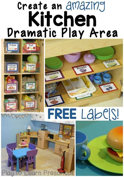 Dramatic Play Kitchen (play To Learn Preschool) Dramatic