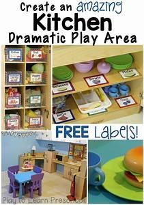 Kitchen Dramatic Play Center   Dramatic Play Preschool ...