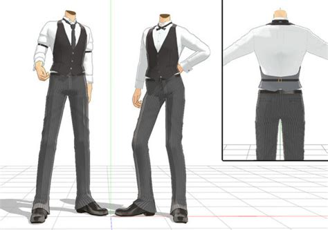 Fancy Male Outfit Download by DesertDraggon on DeviantArt