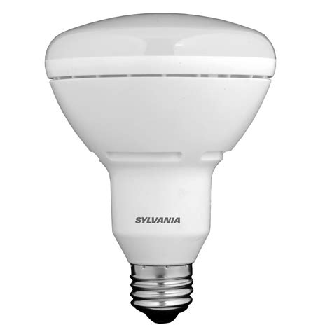 sylvania led light bulbs shop sylvania 65w equivalent dimmable soft white br30 led