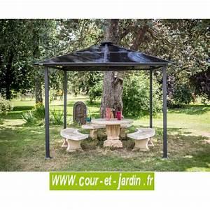 Tonnelle De Jardin 3x3 : tonnelle 3x3 alu tonnelle de jardin aluminium tonnelle ~ Nature-et-papiers.com Idées de Décoration