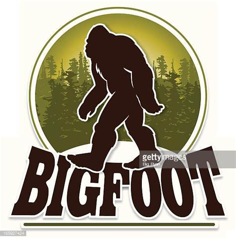 Bigfoot Clipart Bigfoot Stock Illustrations And Getty Images
