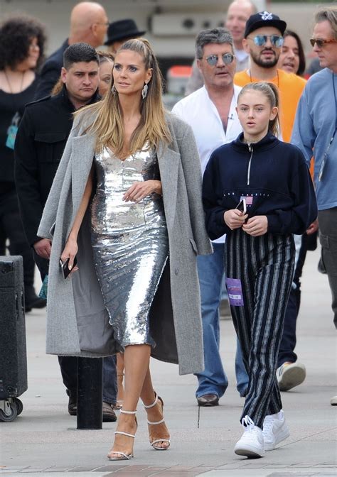Heidi Klum Daughter Leni Set America Got