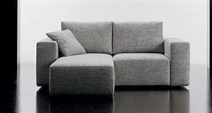 Canape 2 places en tissu square canape avec meridienne for Canape deux places meridienne